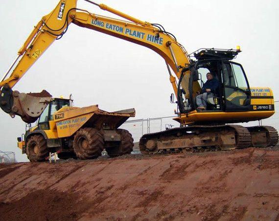360° Excavator